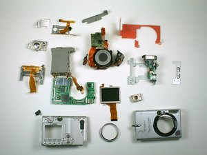 Canon PowerShot S400 Teardown