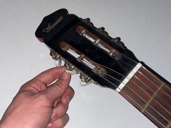 Acoustic Guitar Bridge Replacement