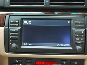 Installing BMW OEM Aux cable in 2003 BMW 5 Series