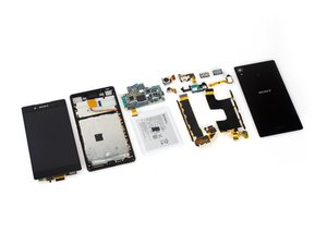 Sony Xperia Z4の分解