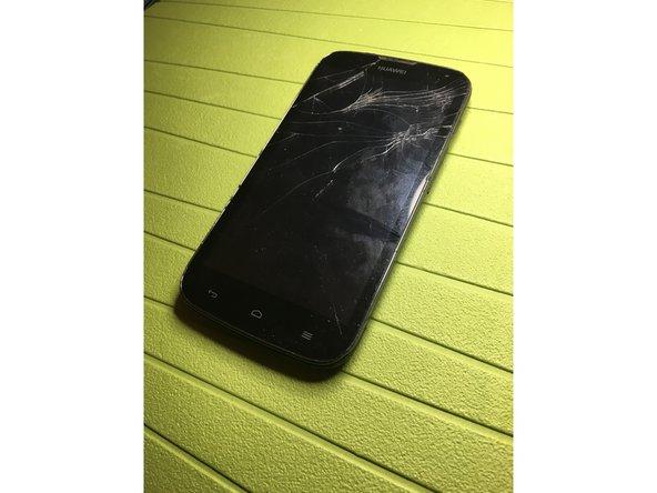 touch screen con vetro rotto