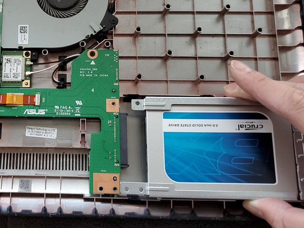 ASUS VivoBook X541UA-SB51-CB Hard Drive Replacement