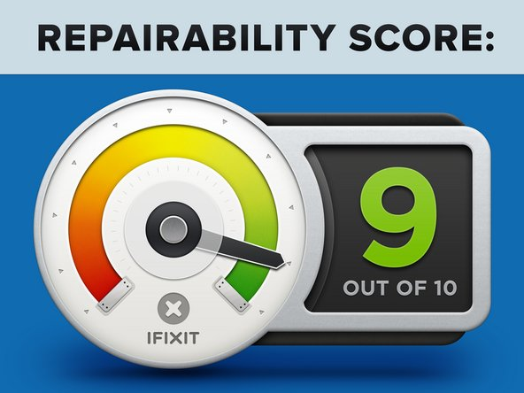 The Mac Pro earns a 9 out of 10 on our repairability scale (10 is the easiest to repair):