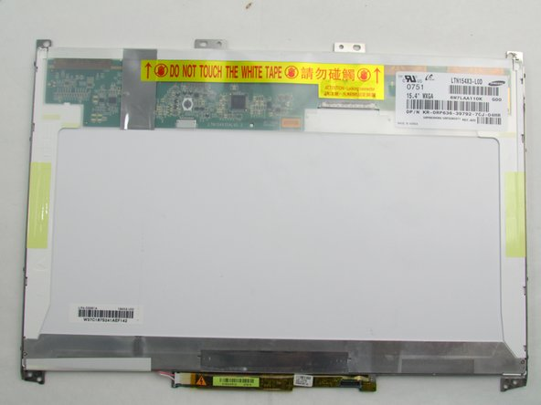 Dell Inspiron 1526 Screen Replacement