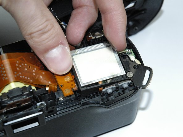 Lift out the LCD screen.