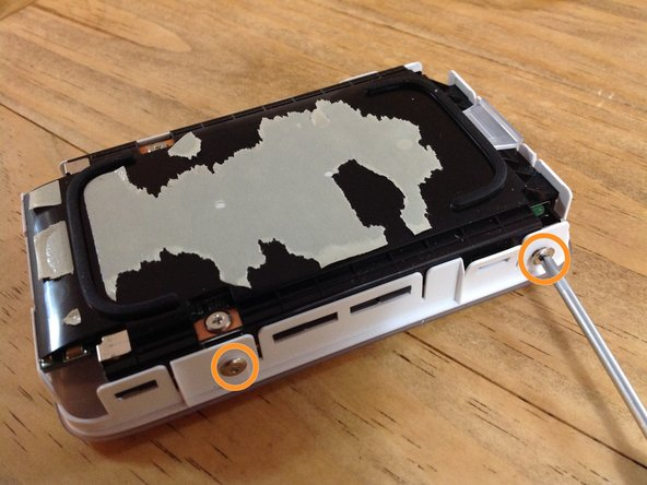 Once the outer aluminium case it away your left with 4 small philips screws holding the actual drive in place, twi either side.