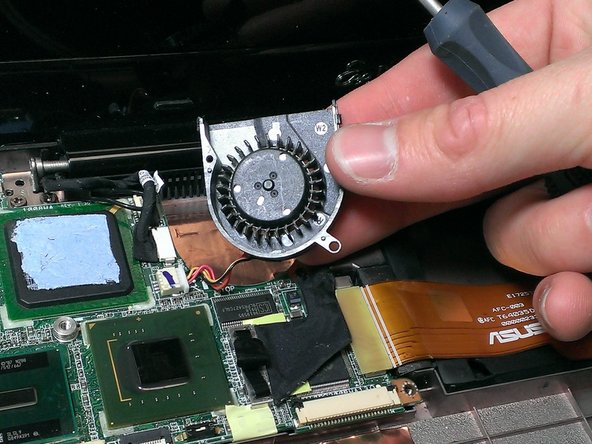 Asus Eee PC 1008ha Cooling Fan Replacement