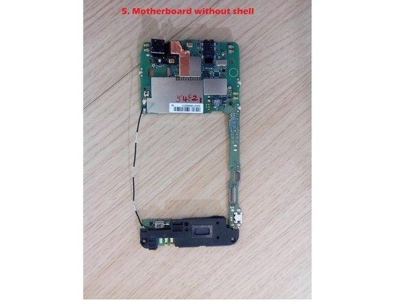 Disassembling ZTE GRAND S FLEX : Unibody, Battery, Motherboard