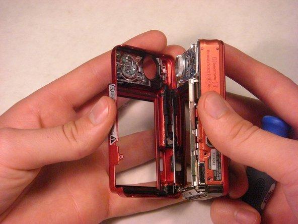 Sony Cyber-shot DSC-W150 Back Casing Replacement