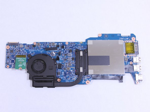 Release the system board (motherboard) from the base enclosure.
