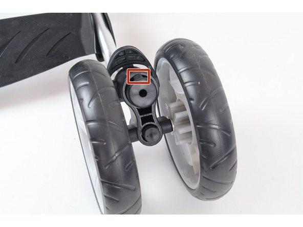 Summer 3D Lite Convenience Stroller Front Wheel Replacement