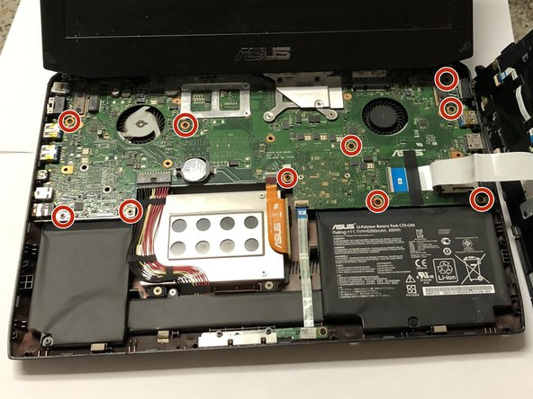 ASUS ROG G46VW Motherboard Replacement