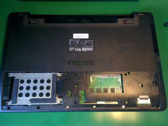 ASUS F550 RAM Replacement