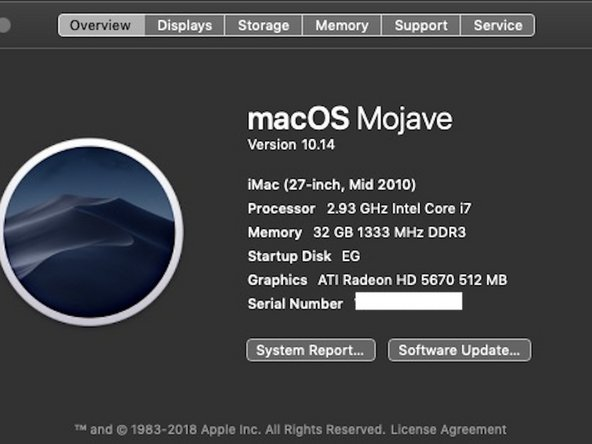 More than 6 years later - now running Mojave 10.14. Dark Mode makes the upgrade worth it.