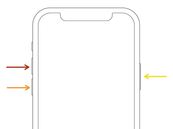 Comment forcer le redémarrage de l'iPhone 12 mini