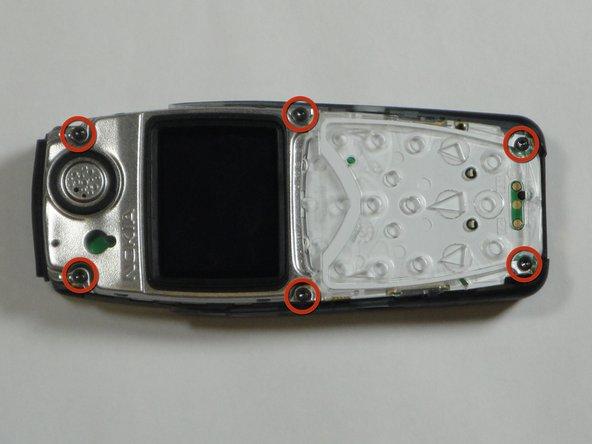 Disassembling Nokia 3560 LCD Display