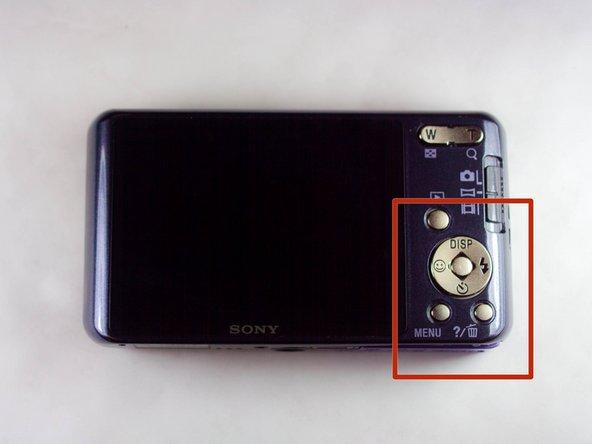 Sony Cyber-shot DSC-W570 Flash Replacement