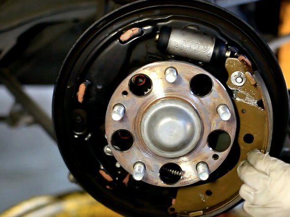2003-2007 Honda Accord Rear Brake Shoes Replacement