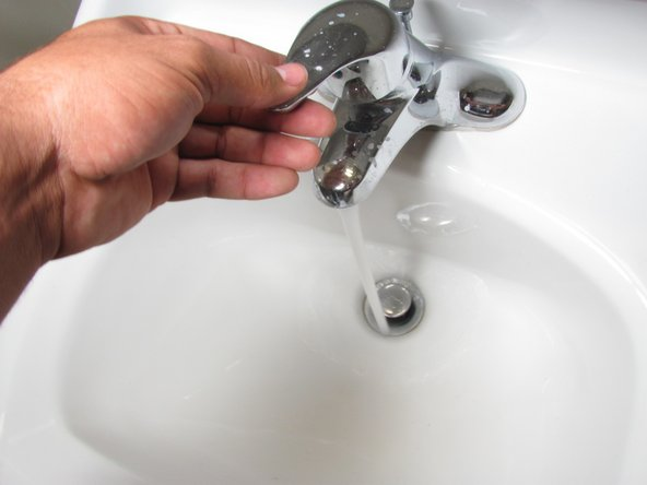 Wash the filters by running tap water through them until clear unless you are buying new filters.
