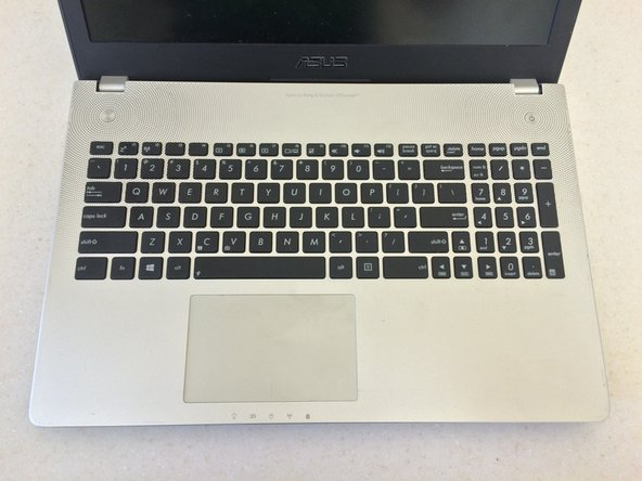 ASUS N56JN Laptop Hard Drive Replacement