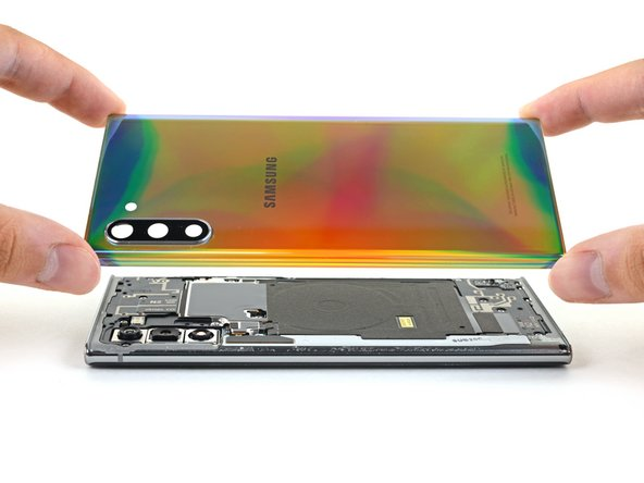 Samsung Galaxy Note10 Rear Cover Replacement
