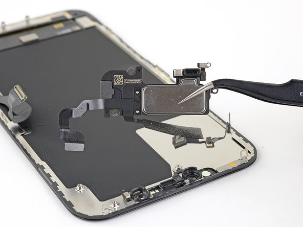 iPhone 12 Pro Max Earpiece Speaker and Front Sensor Assembly Replacement