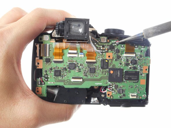 Nikon Coolpix P90 Motherboard Replacement