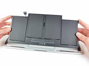 """Remplacement de la batterie du MacBook Air 13"""" fin 2010"""