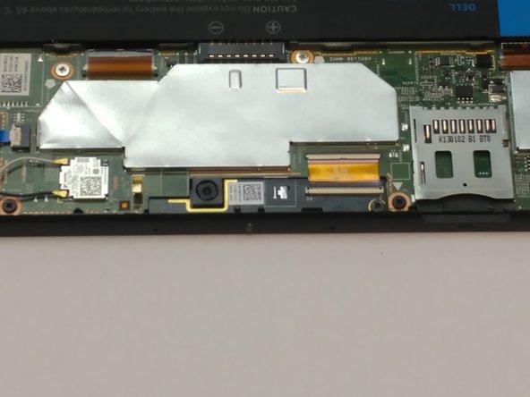 Dell Latitude 10-ST2e Front Facing Camera Replacement