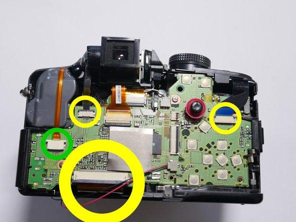 Panasonic DMC-FZ35 Main Board Replacement