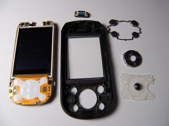 Remplacement des boutons de l'interface principales du Sony Ericsson S710a