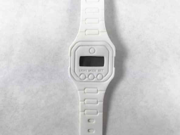 Rubber Watch Battery Replacement