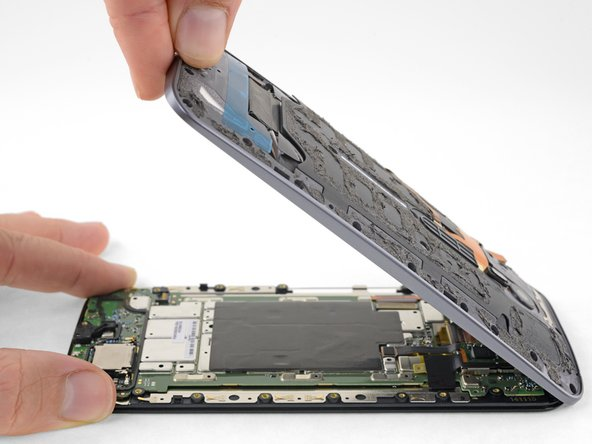 Procedimiento de apertura del Motorola Moto X Pure Edition