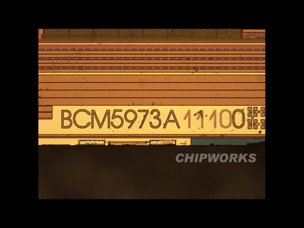 Broadcom's I/O microcontroller with NVM (used for touchscreen)