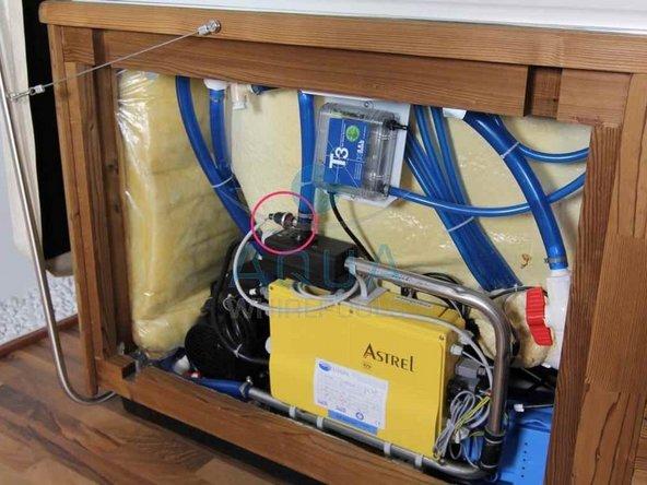 Whirlpool Druckschalter auswechseln