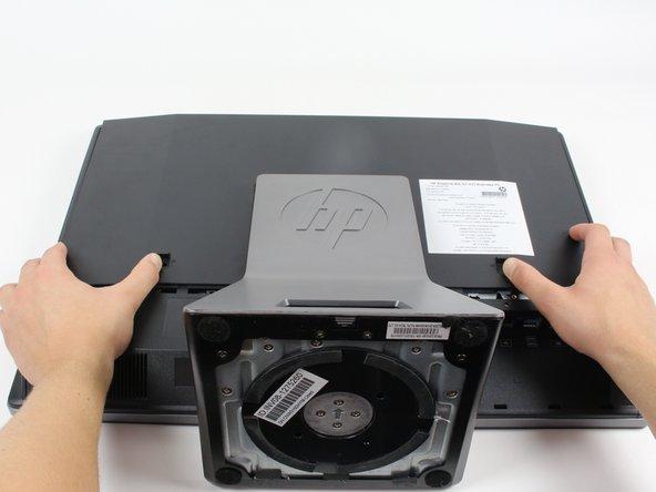 HP EliteOne 800 G1 Extracción de la cubierta posterior Reemplazo