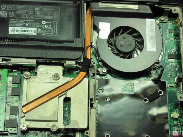 Gateway MD2614u Fan Replacement