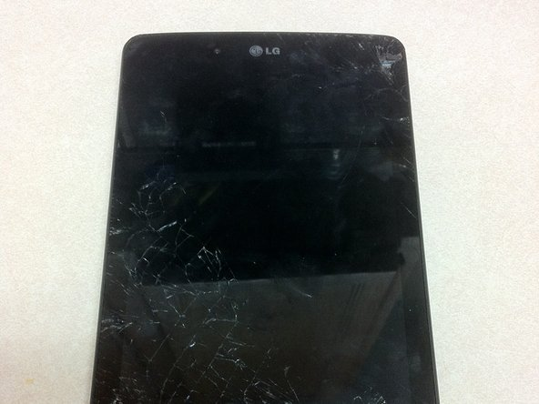LG G Pad 7.0 LTE Front Screen Replacement