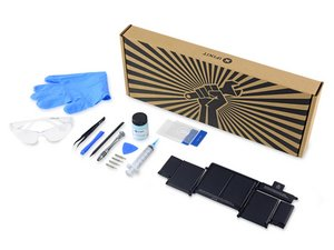 Retina MacBook Pro Battery Kit Guides