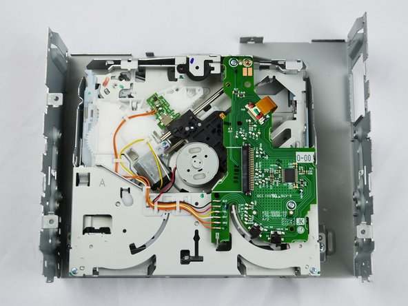 Kenwood KDC-BT362U DVD-Drive Replacement