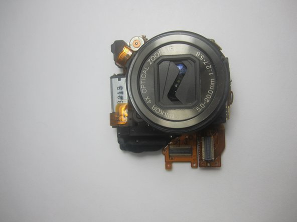 Nikon CoolPix S600 Lens Assembly Replacement