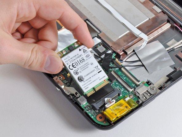 HP Mini 1000 WWAN Board Replacement