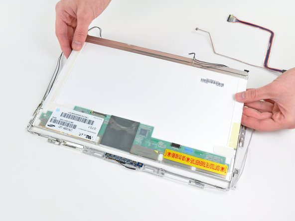 Remplacement du panneau LCD du MacBook Core 2 Duo