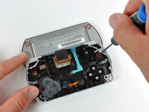 PSP Go ディスプレイの交換