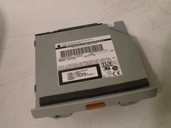 iMac G3 Model M4984 Optical Drive Replacement