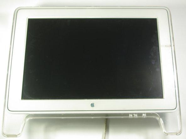 Removing the Apple Cinema Display M8149 Display Hinge