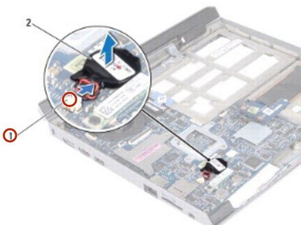 Alienware M11xR2  Batería de botón  Reemplazo