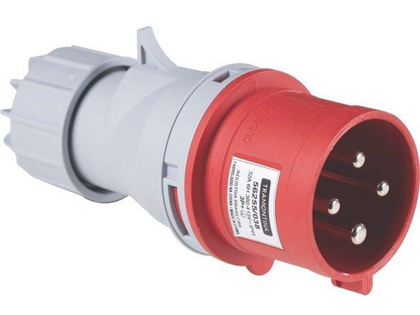 O primeiro passo é ligar a Alimentação da maquina no Trifásico 220 Volts.