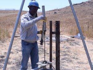 Above Grade Riser Pipe (Ndembele)