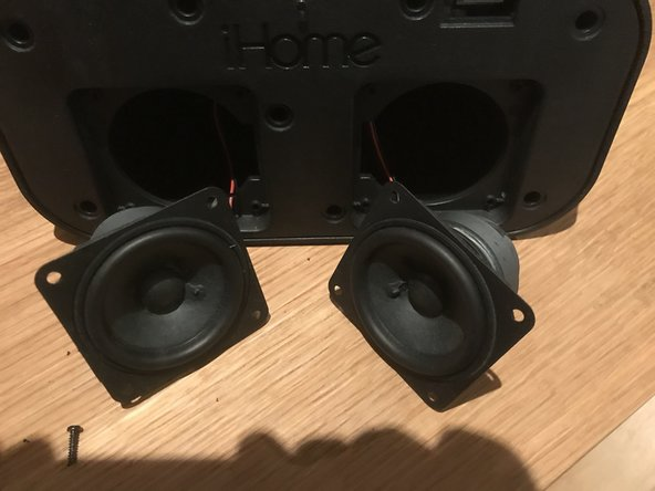 iHome iBT25 Speaker Replacement